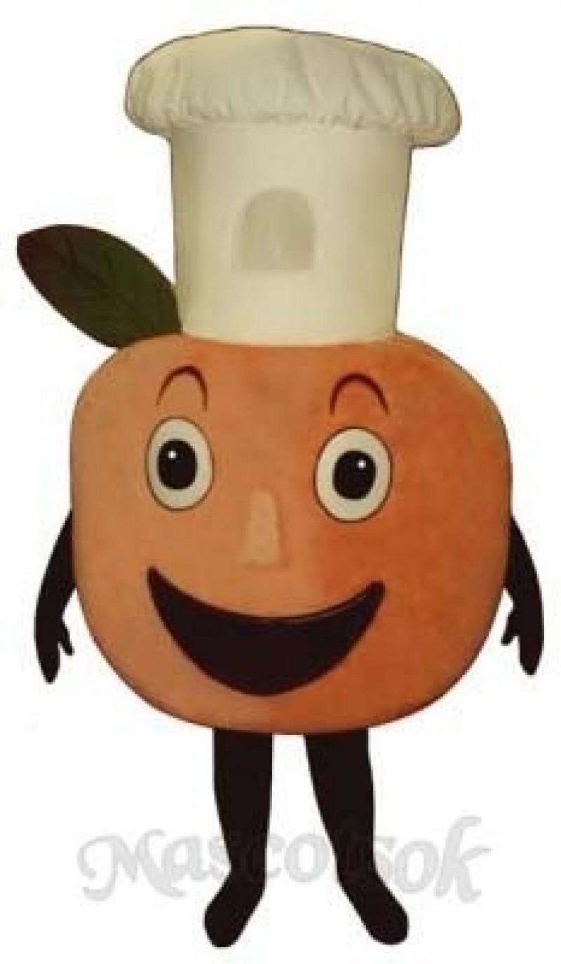 Baker Peach Mascot Costume