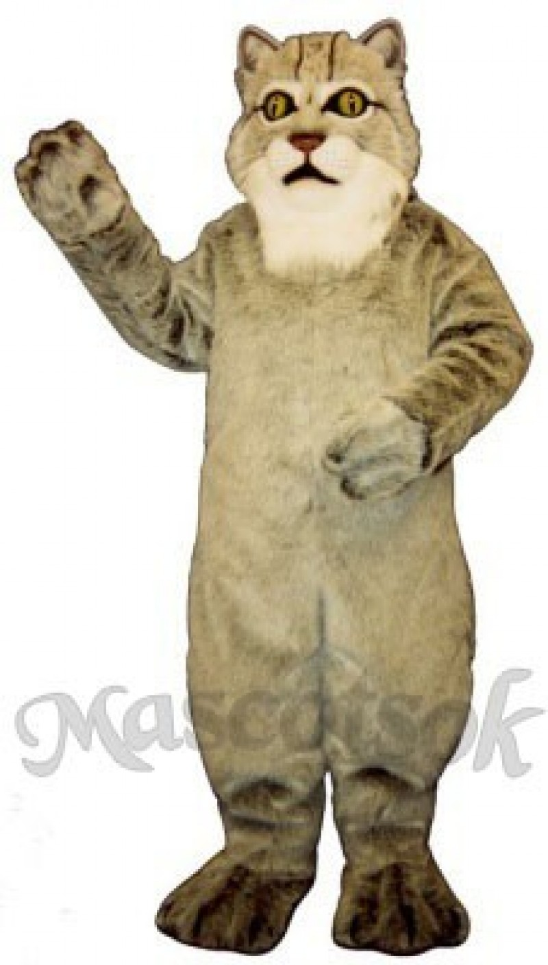 Cute Lynx Cat Mascot Costume