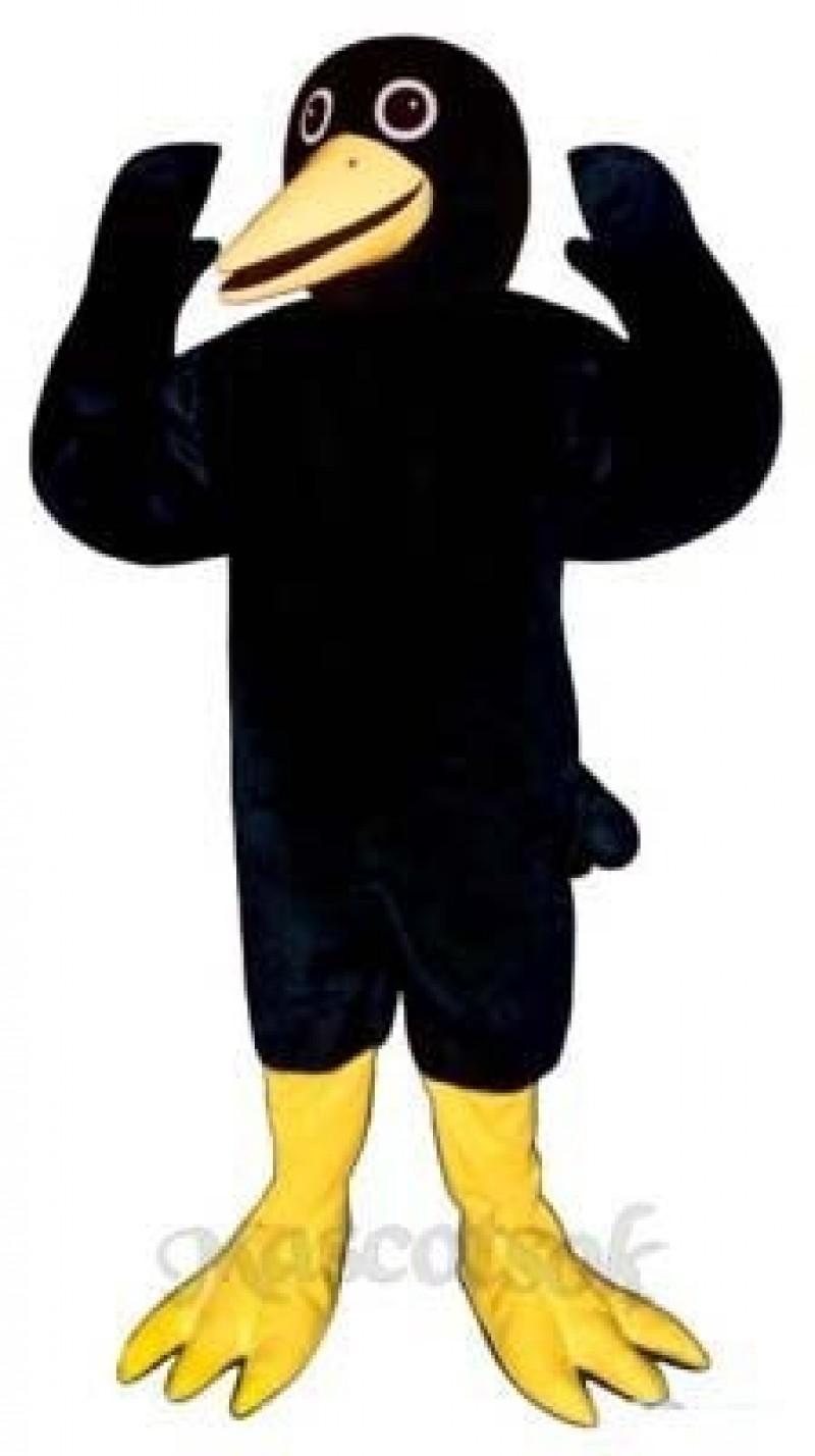 Cute Blackie Blackbird Mascot Costume