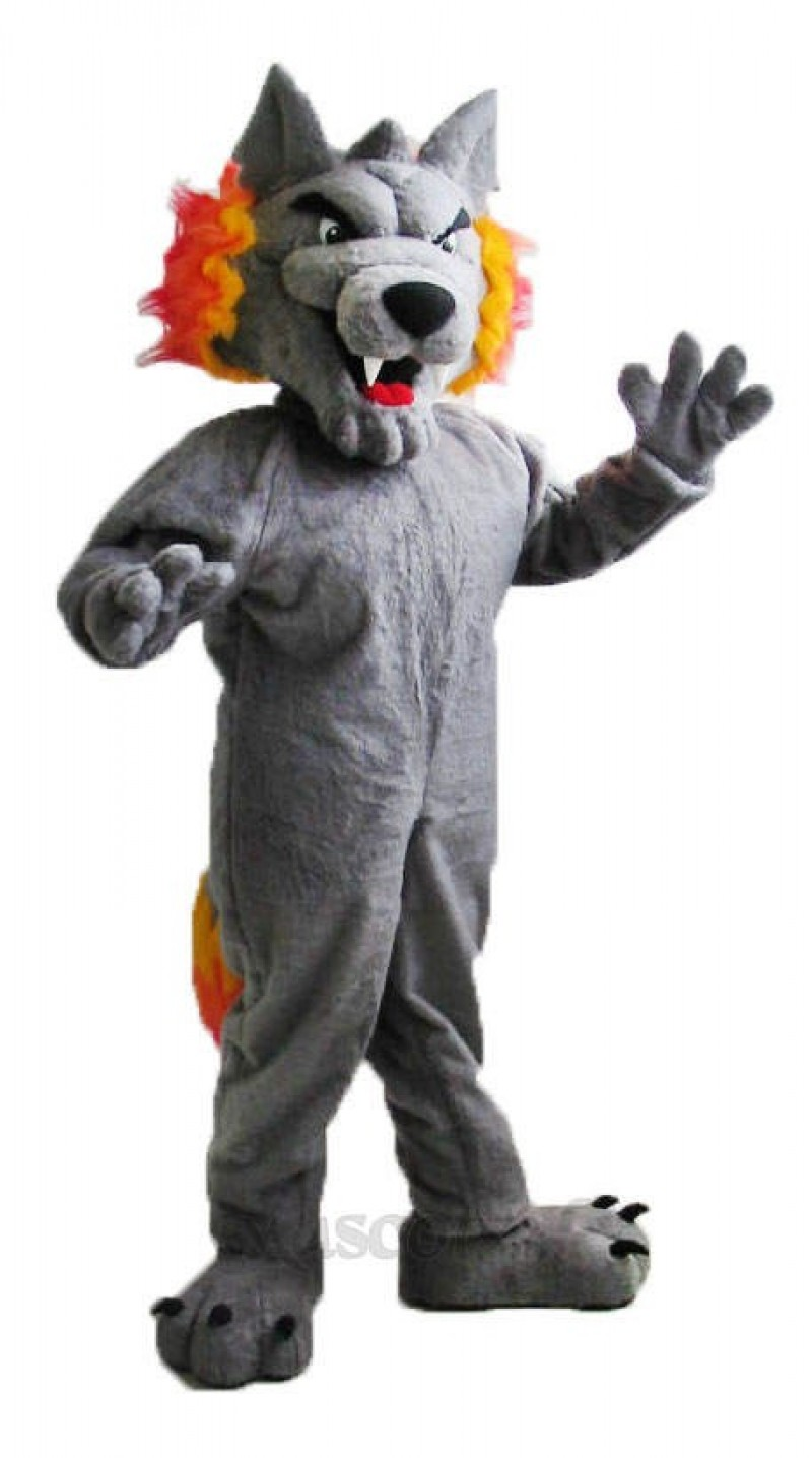 GMH Wolf Custom Hockey Mascots