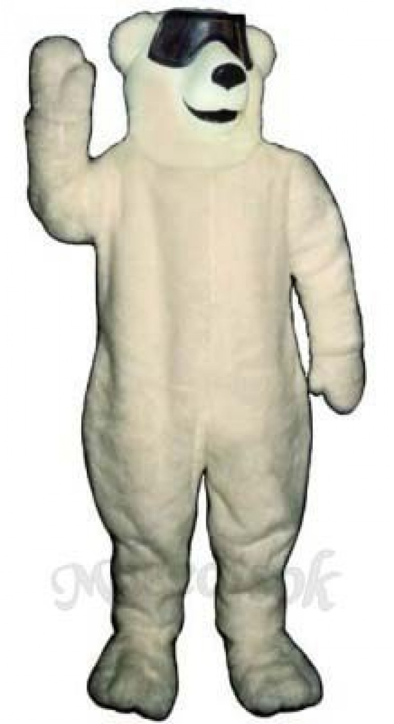 Party Polar Bear Mascot Costume