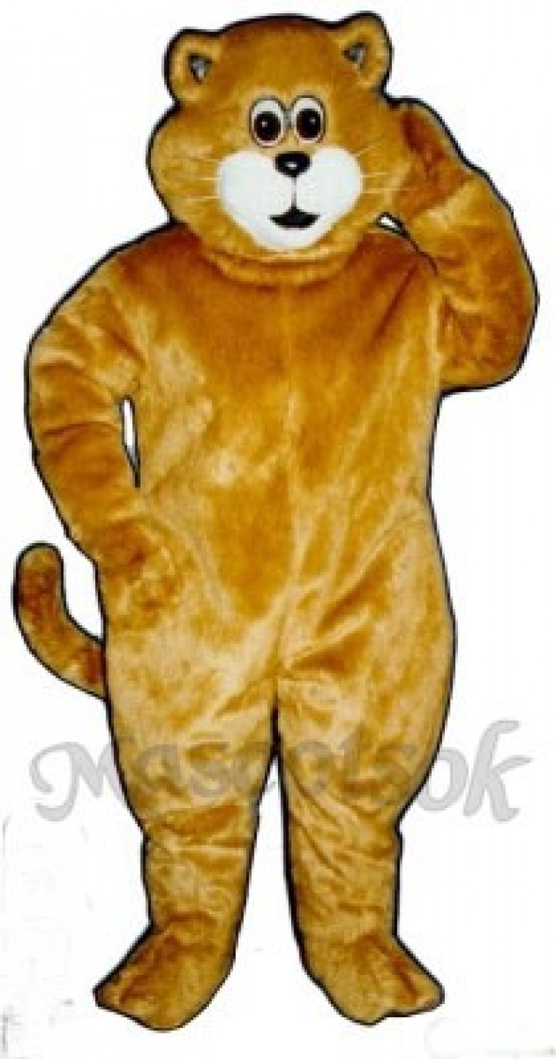 Cute Tommy Cat Mascot Costume