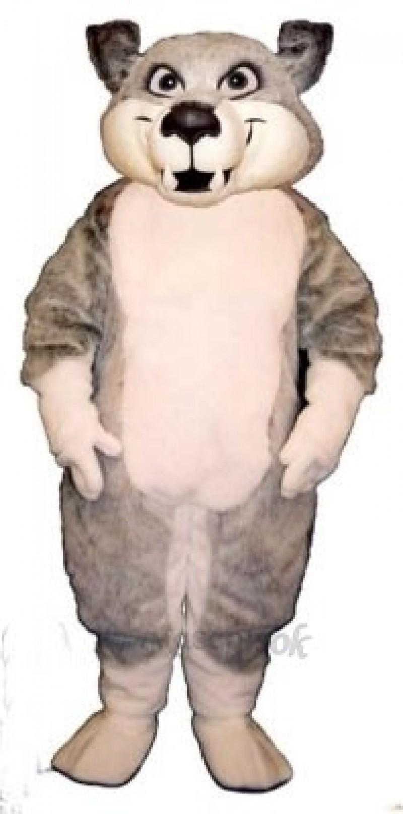 Cute Charley Wolf Mascot Costume