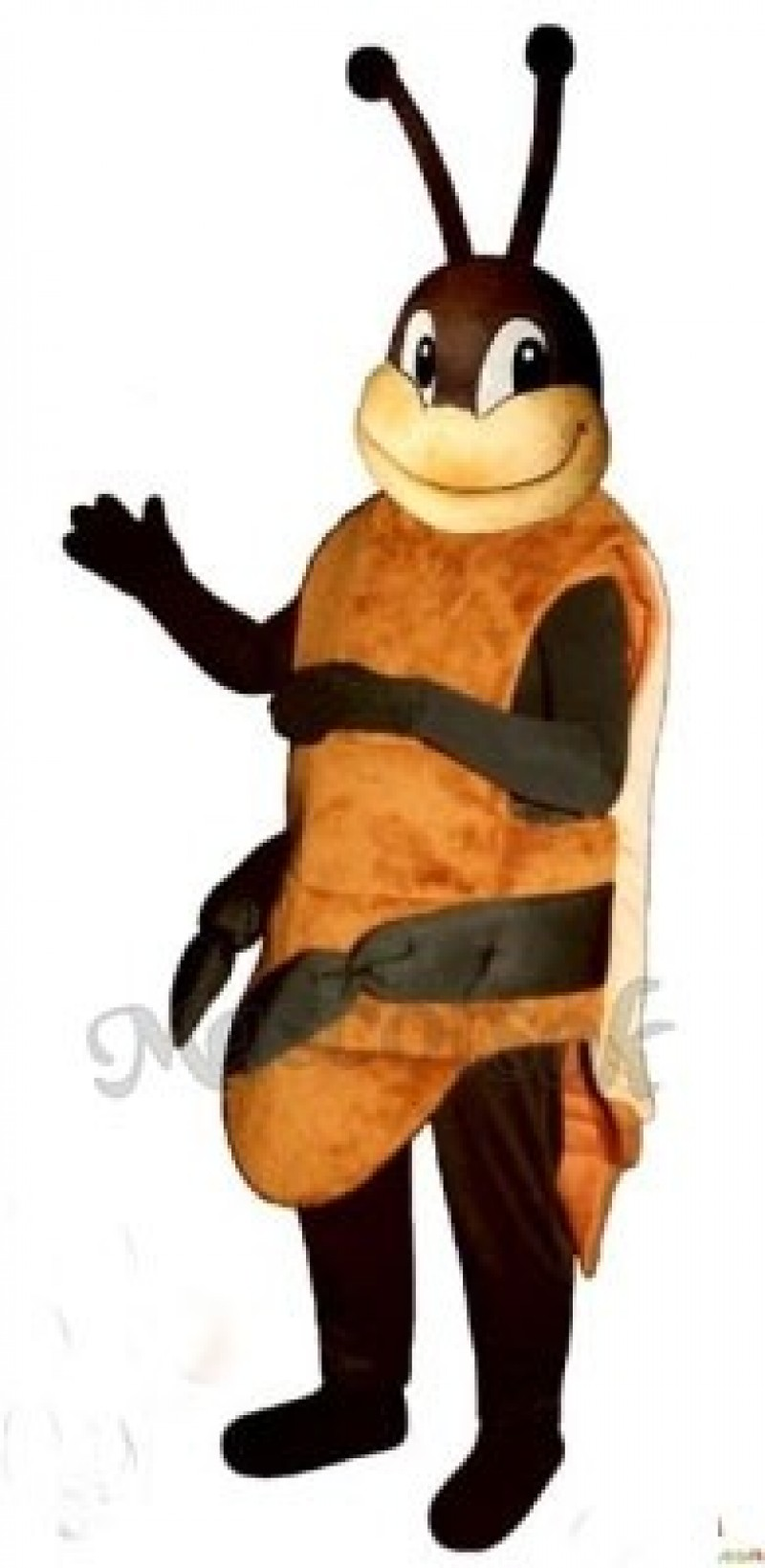 Randy Roach Cockroach Mascot Costume