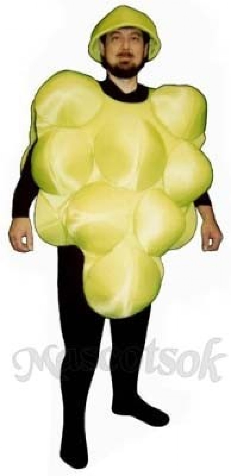 Green Grapes Mascot Costume
