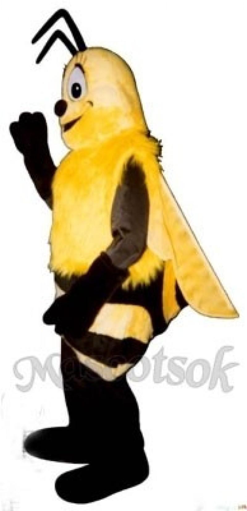Fuzzy Bee Mascot Costume
