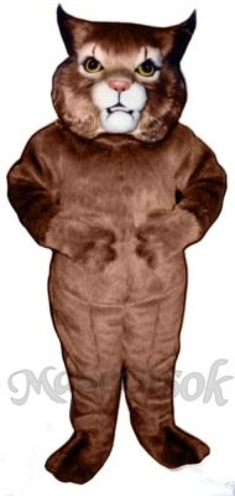 Cute Girl Wildcat  Mascot Costume