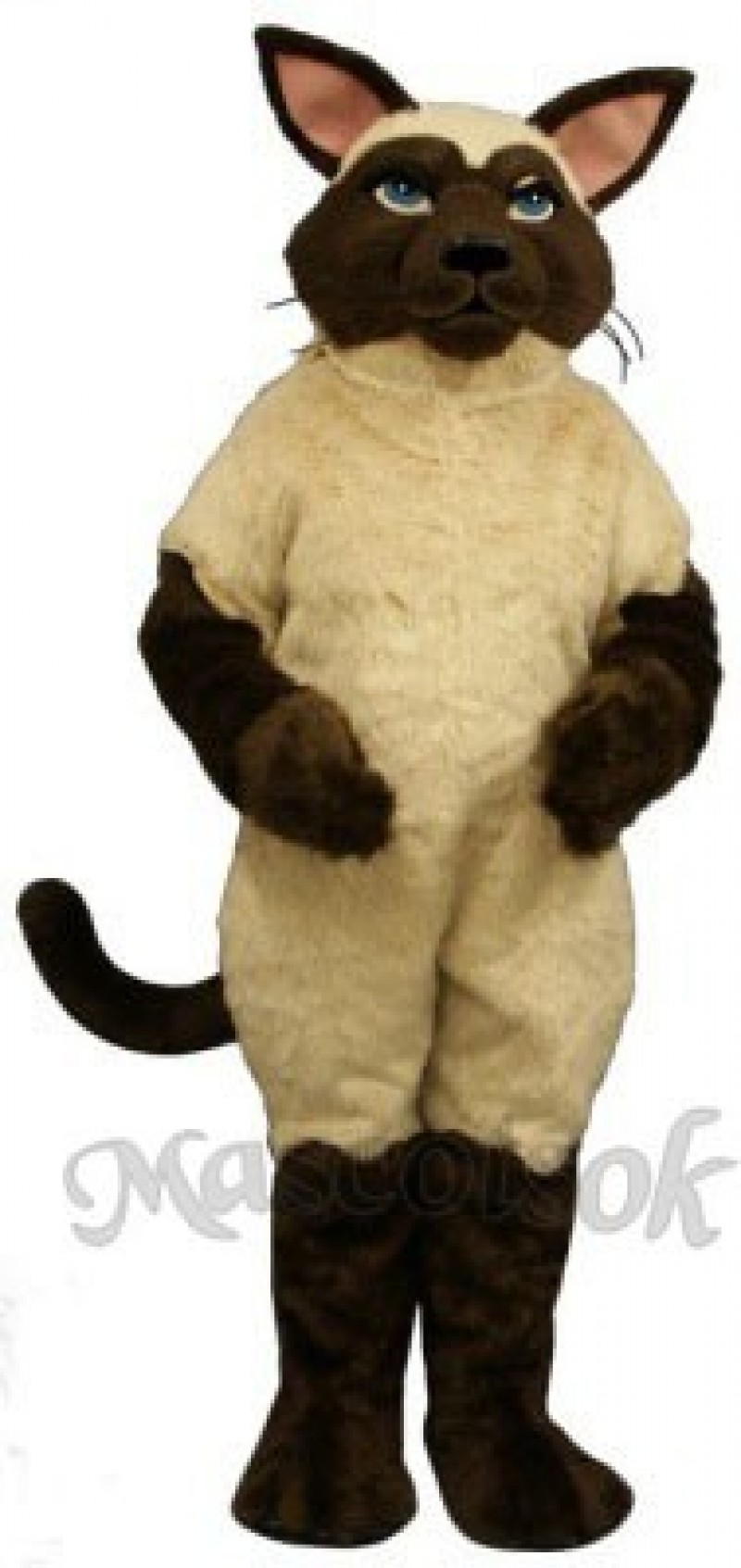 Cute Sally Siamese Cat Mascot Costume