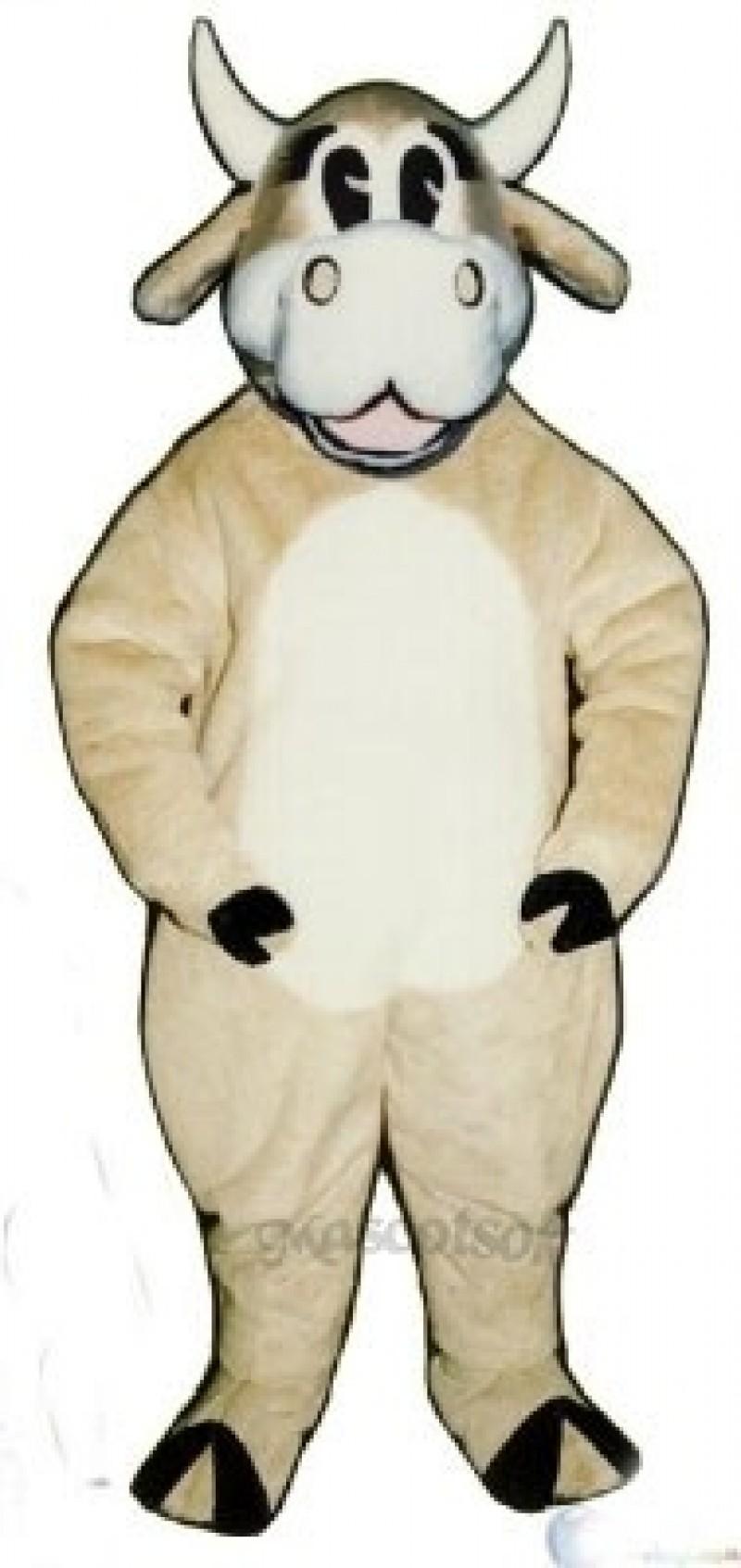 Jersey Jezebell Cattle Christmas Mascot Costume