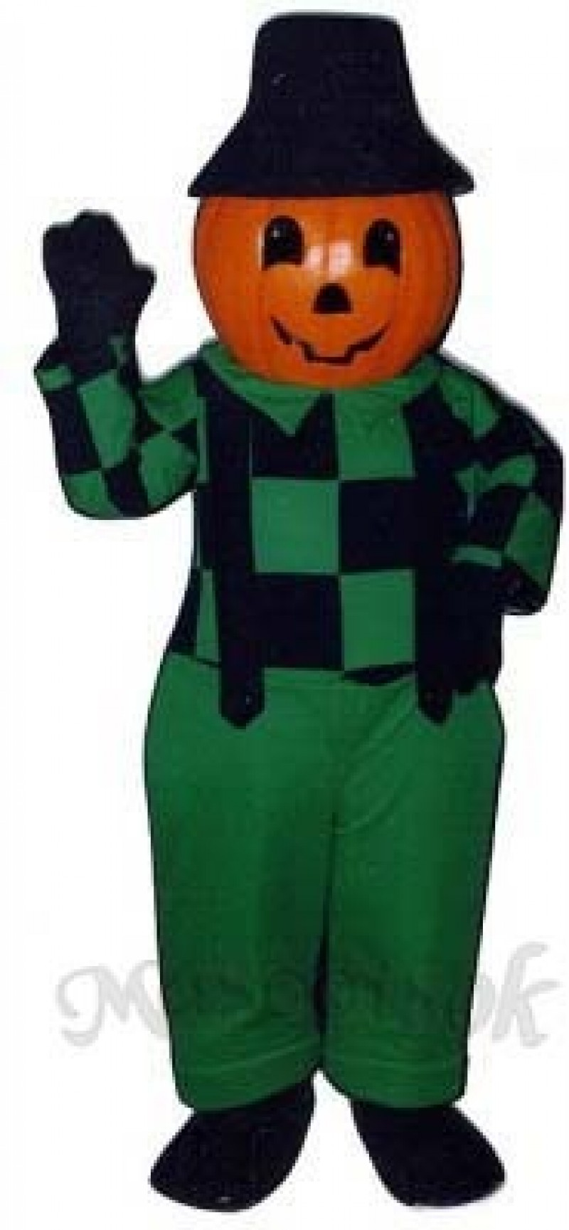 Blinkey Pumpkin Mascot Costume