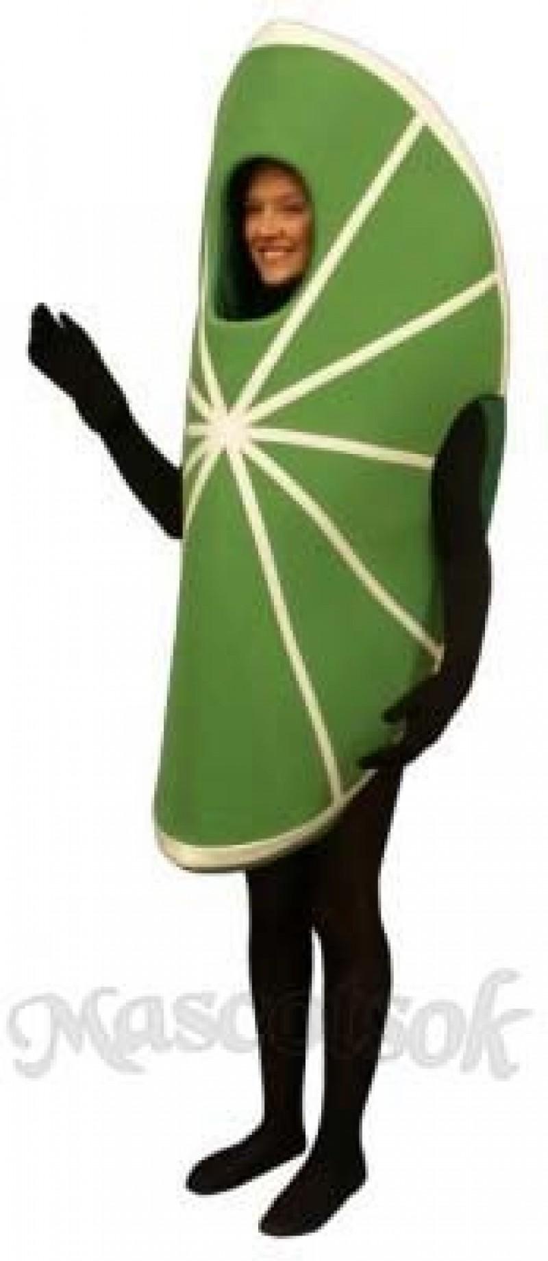 Lime Wedge Mascot Costume