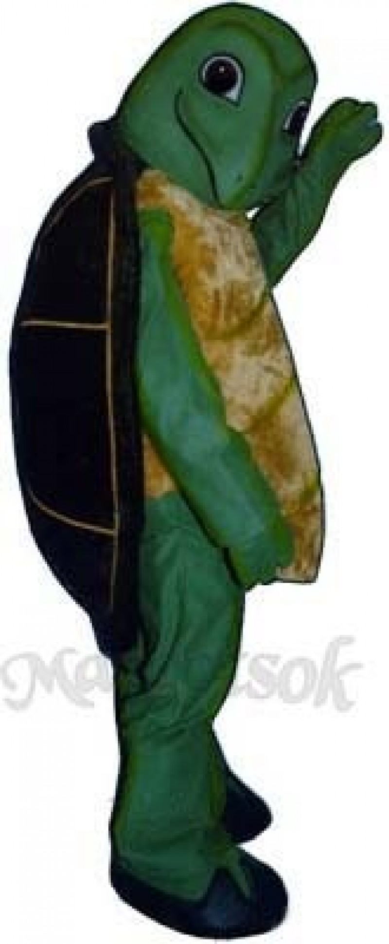 Toby Turtle Mascot Costume
