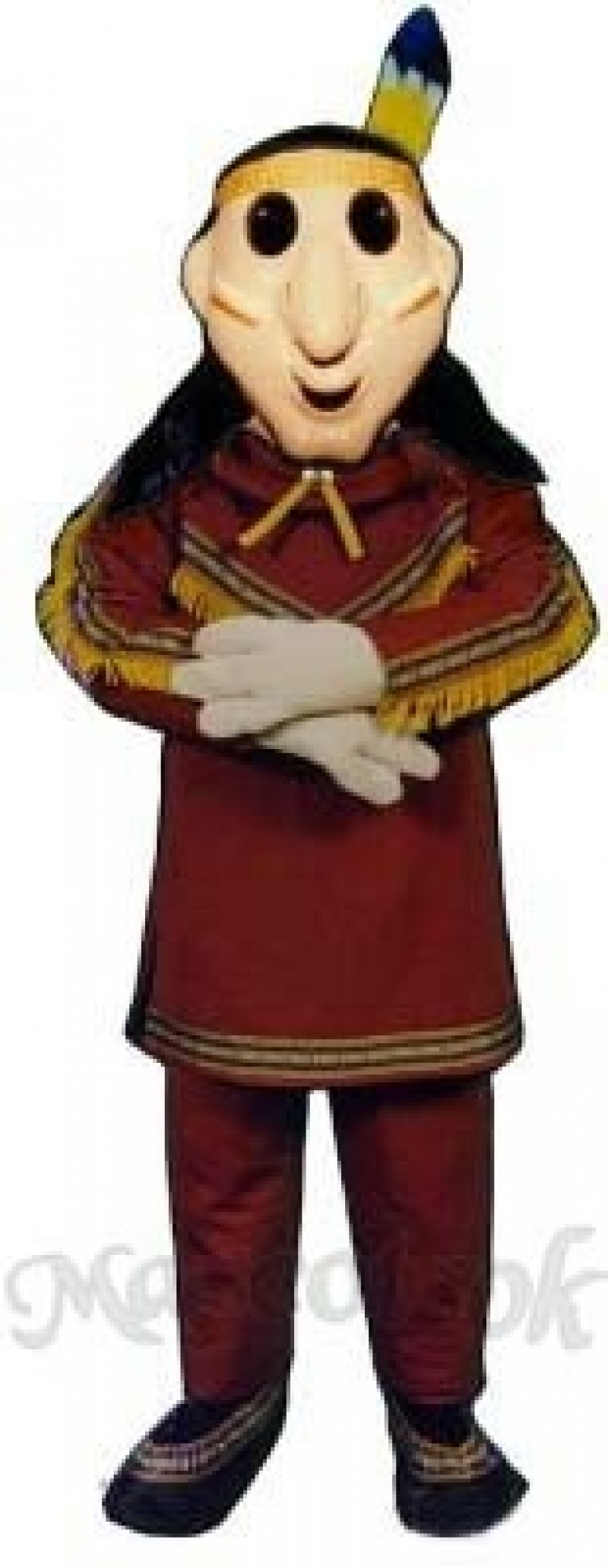 Brave Mascot Costume