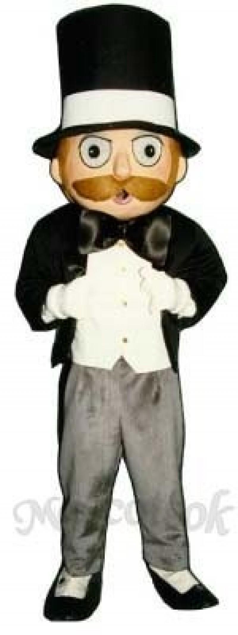 Suave Sam Mascot Costume