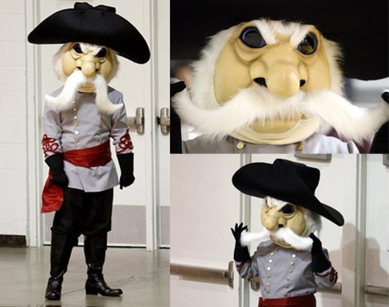 New Rebel Mascot Costume