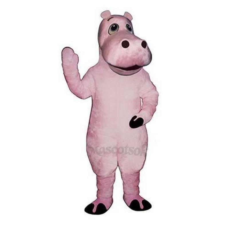 Heidi Hippo Mascot Costume
