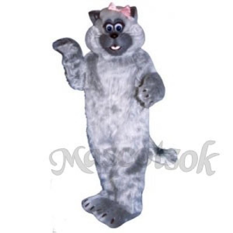 Cute Tabitha Cat Mascot Costume