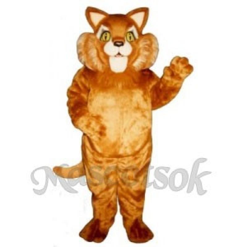 Cute Thomas Cat Mascot Costume