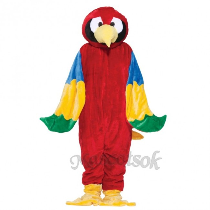 Deluxe Parrot Mascot Costume