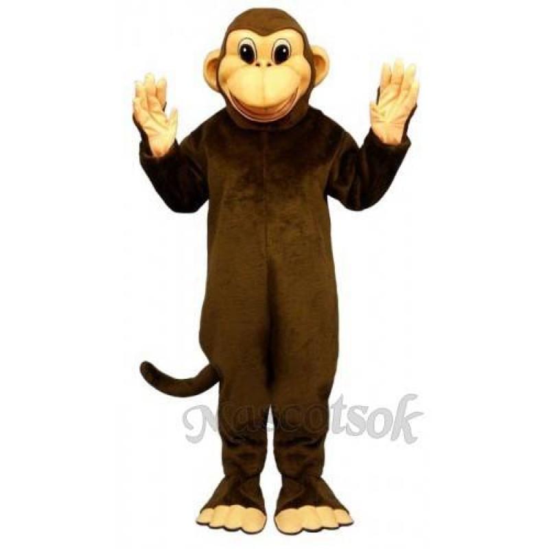 Cute Mischevious Monkey Mascot Costume