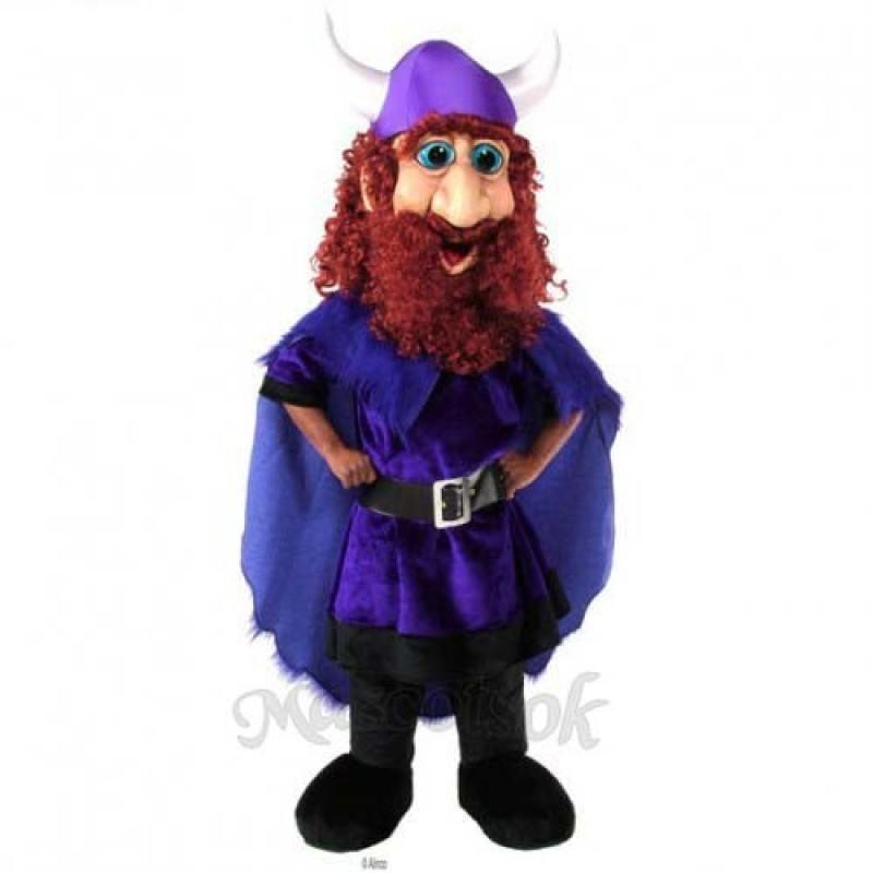 Friendly Viking Mascot Costume