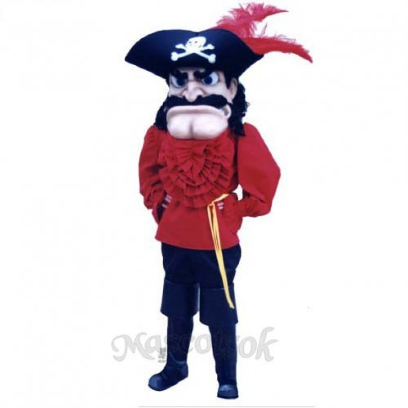 Captain T. Bounty Mascot Costume