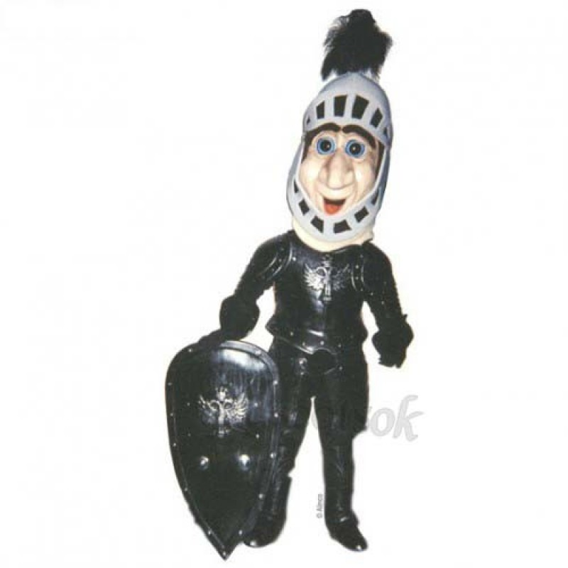 Comic Knight Mascot Costume