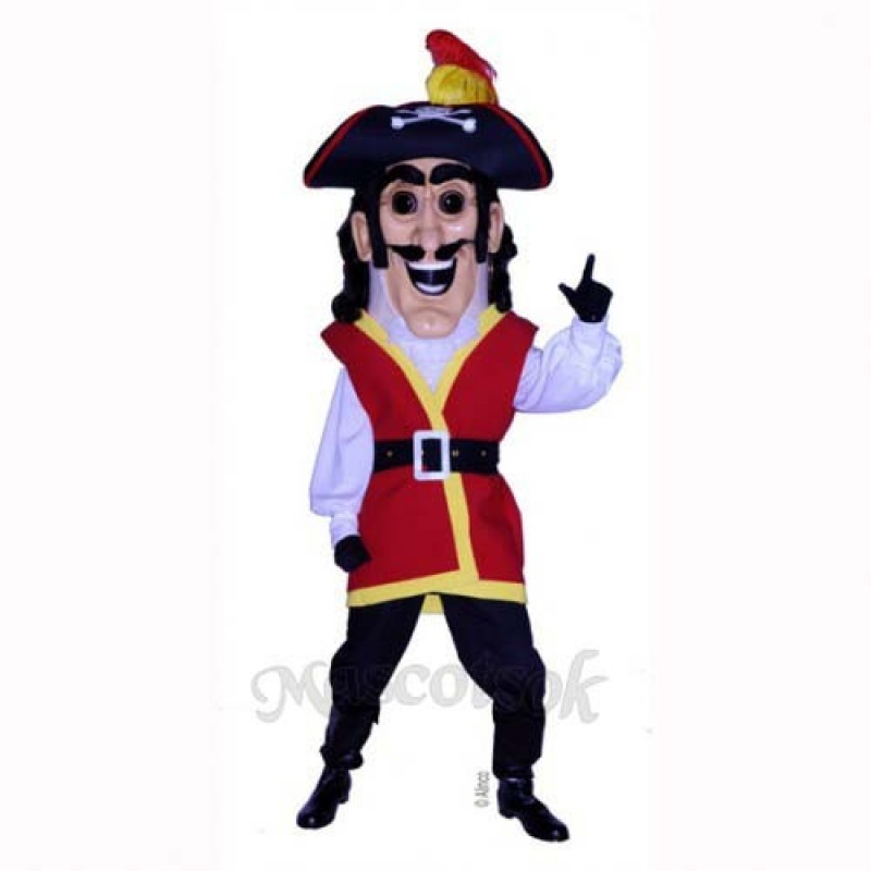 Captain Plunder Mascot Costume