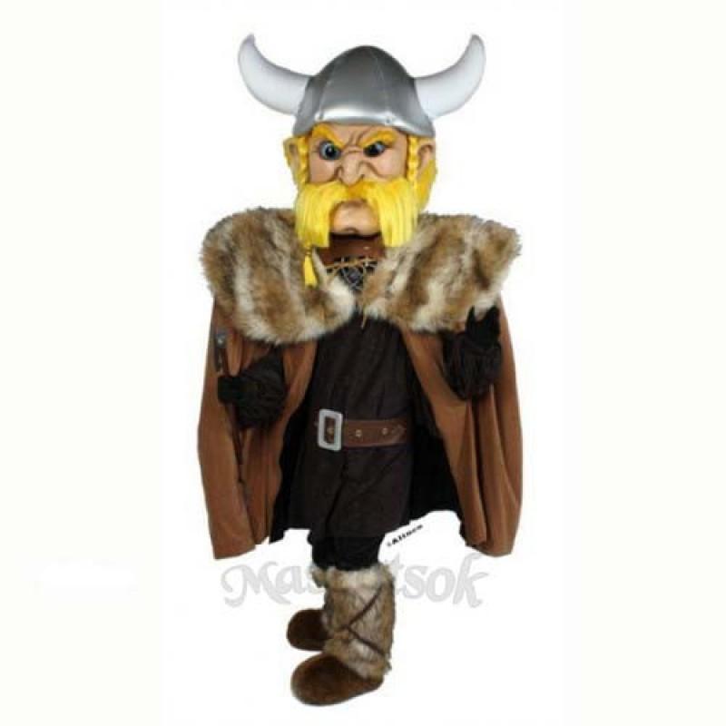 Thor the Giant Viking Mascot Costume