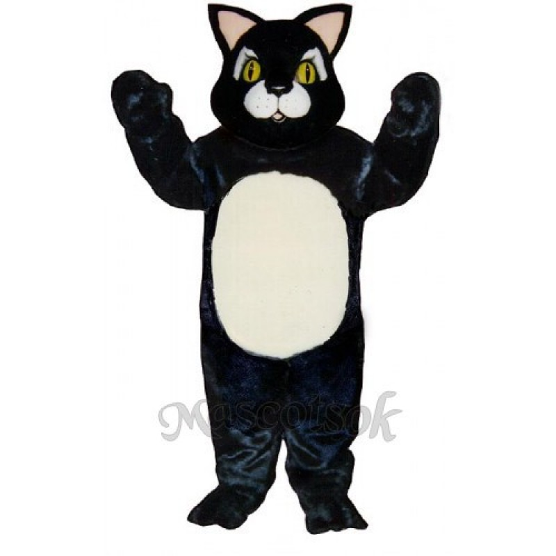 Cute Blackie Cat Mascot Costume