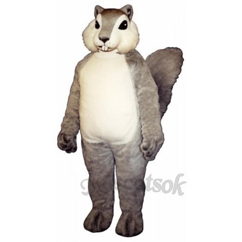 Grey Squirrel Mascot Costume