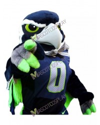 Seattle Seahawks Blitz the Seahawk BOOM the Seahawk Mascot Costume