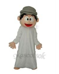 Arab Boy Mascot Adult Costume