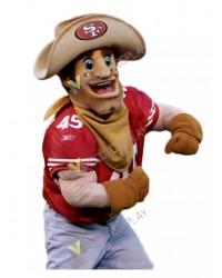High Quality Adult Sourdough Sam 49ers Mascot Costume