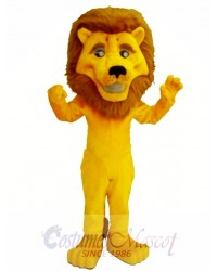 Eli The Lion Mascot Costume