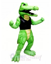 Power Crocodile Mascot Costume