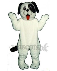 Cute White Puppy Dog Mascot Costume