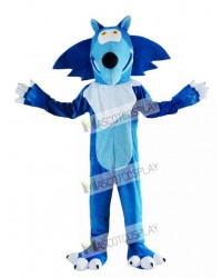 Blue Wolf Coyote Mascot Costume