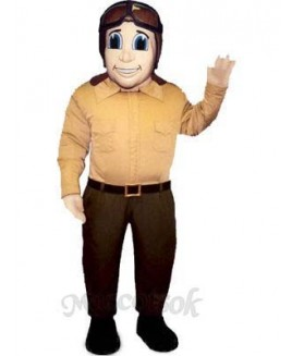 Fly Boy Mascot Costume