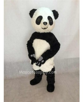 High Quality Plush Panda Adult Mascot Funny Costume Type D