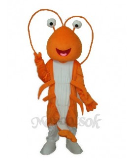 Prawn Mascot Adult Costume