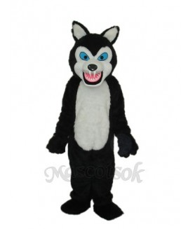 Thin Teeth Wolf Macot Costume