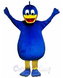 Blue Duck Mascot Costume