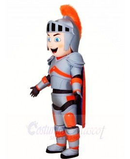 Blue Eyes Knight Mascot Costumes People