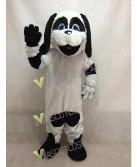 New Black Ear Sheepdog Mascot Costume