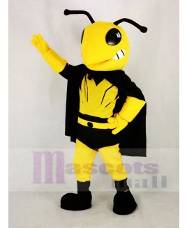 Cool Hero Bee Mascot Costume Animal