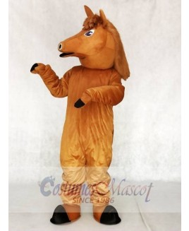 Cute Pony Horse Mascot Costumes Animal