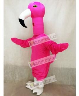 Cute Flamingo Bird Mascot Costume