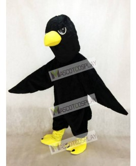 Cute Raven Crow Mascot Costume