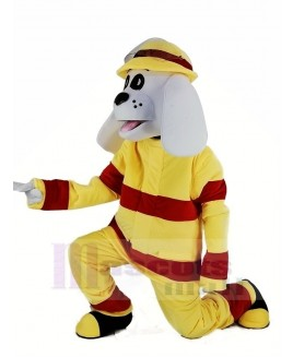 New Sparky the Fire Dog Mascot Costume Animal
